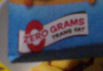 It says here that it has no trans-fat.
