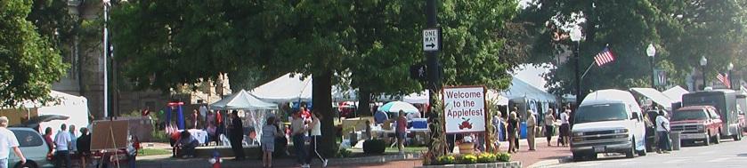 Applefest in Sidney Ohio
