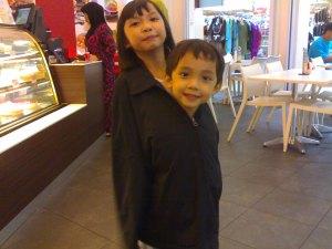 This me and my sister Kafah