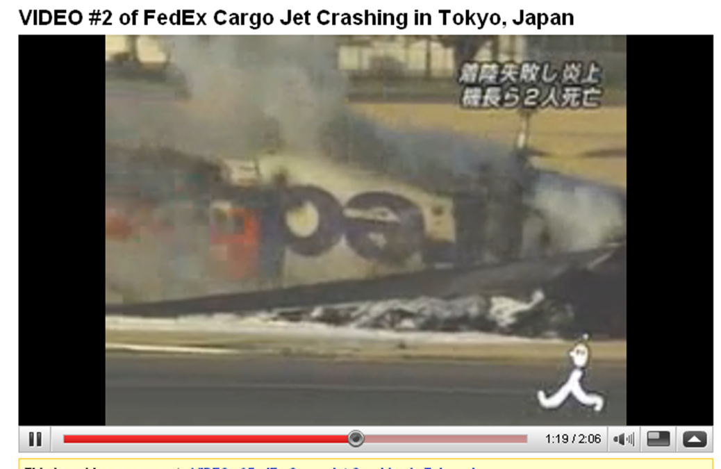 FedEx jet crashed