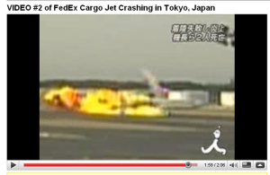 FedEx jet burst into a fireball