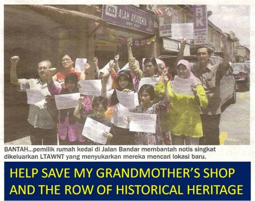 Help save the historical heritage row