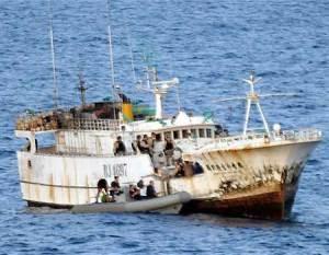 Somalia Pirate Ship