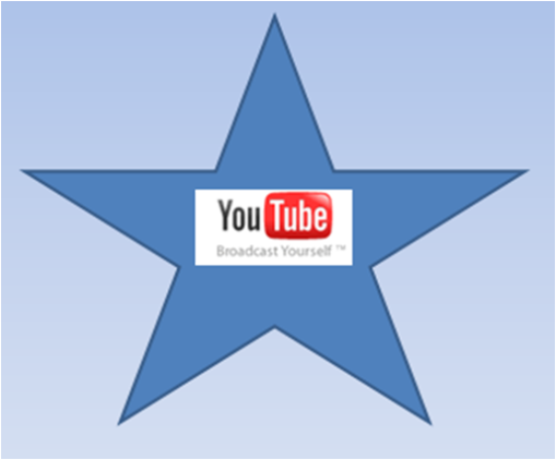 You Tube Logo In a Star