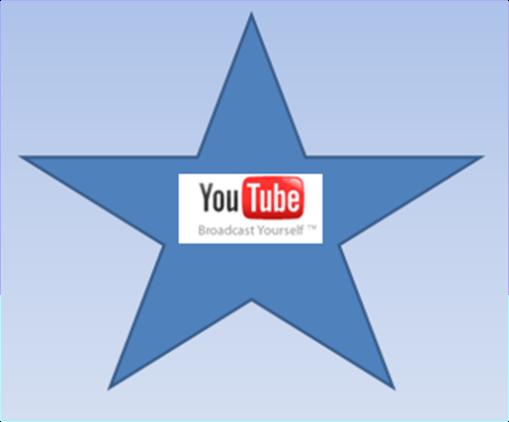 You Tube Logo In a Star