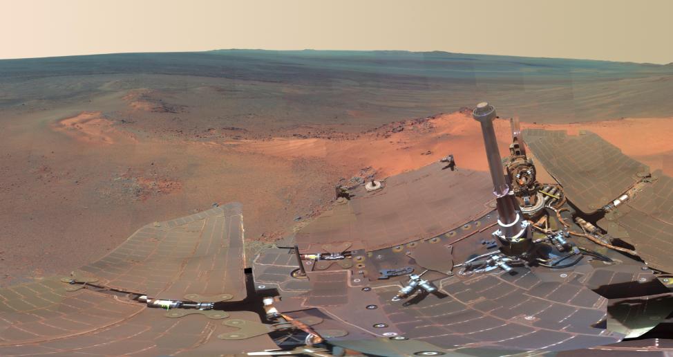 NASA's Latest Amazing Photos Of Mars (3/6)