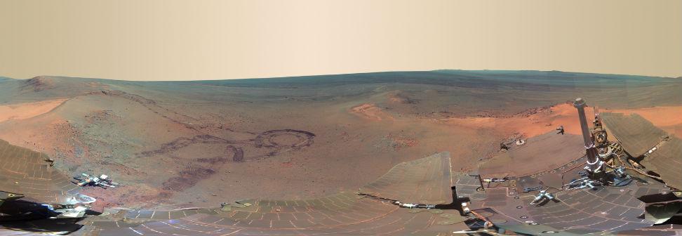 NASA's Latest Amazing Photos Of Mars (2/6)