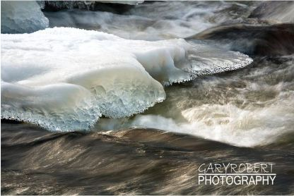 Photographer Gary Jensen captured the freezer's dreamlike state before the ice melted away. (Photo by Gary Jensen)