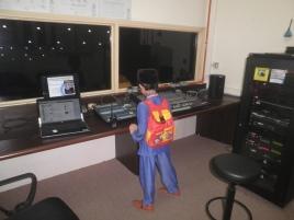 A photo of me at the Audio Room of Dewan Muktamar, Pusat Islam, Kuala Lumpur.