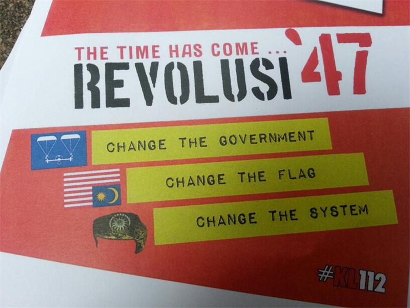 Are they going to make a Revolution? (Picture from (Pas Beruk)
