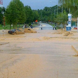 Putra Height landslide, Thursday December 3, 2012. (MStar Online)