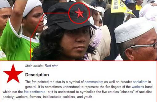 Is he a communist? (Picture from RBF Online)