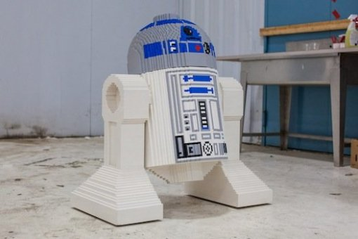 R2-D2. (Photo by Dan Bracaglia credit to POPSCI)