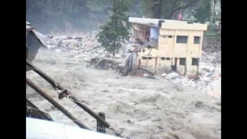 Incessant rainfall has flooded much of northern India a month ahead of schedule. Miriam Berger reports.