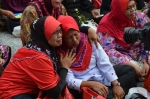 PERKASA ladies were so happy that they cried after Tok Him announced the court's decision, June 23, 2014.