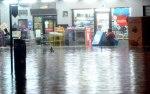 The public going through the flash flood that hits Kuala Lumpur - BERNAMA.