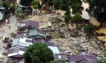 GUA MUSANG 27 December 2014. Kelihatan sebahagian rumah yang musnah di Kampung Kundur selepas banjir teruk melanda Gua Musang mula surut NSTP/Luqman Hakim Zubir