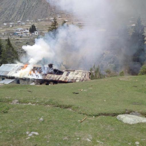 One MI-17 helicopter out of 3 carrying visitors had a crash landing at Naltar, Pakistan on May 8, 2015. 11 foreigners and 6 Pakistani passengers were on board. 3rd MI-17 crash landed, as per initial information,  all passengers and crew survived. Three passengers received injuries. (Ispr/Pacific Press/ZUMAPRESS.com)