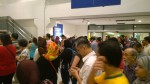 The crowd gets bigger as the opening time gets nearer. IKEA Cheras, November 19, 2015.