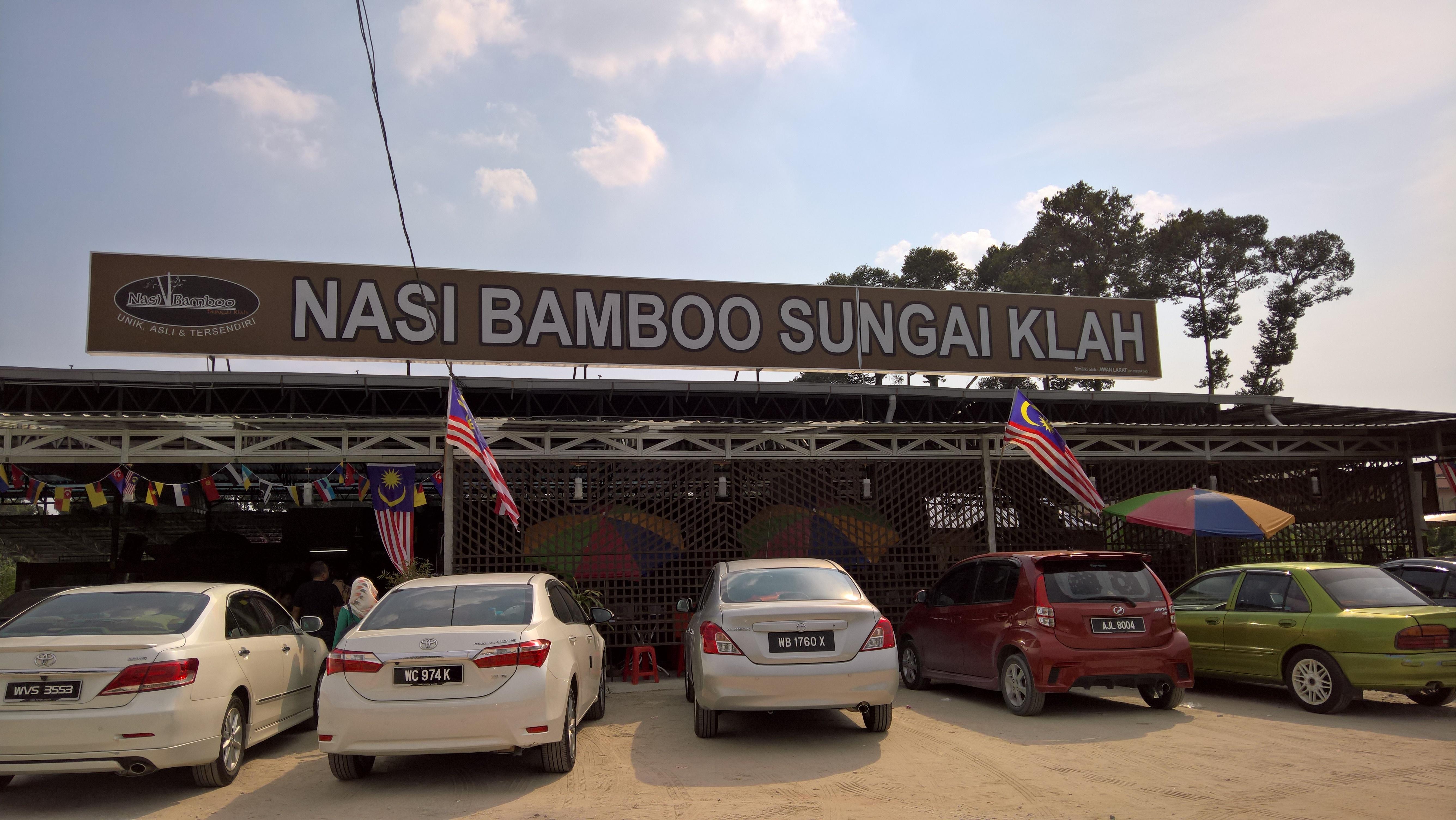 Nasi Bamboo Sungai Klah restaurant.