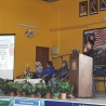 A photo of me giving a speech to the students of SMKTSMR.