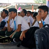 The students of SMKTSMR during the session.