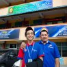 A picture with the Yang Di-Pertuan of SMKTSMR, Cikgu Mohd Ridhwan.