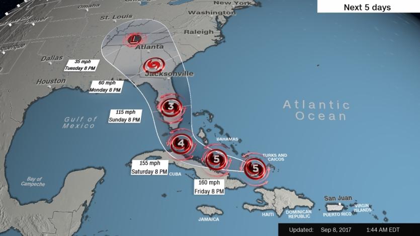 Complete coverage of Hurricane Irma
