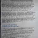 Maklumat tentang Galeri Darurat Bukit Kepong.