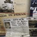 Sebahagian lagi pameran tentang laporan serangan musuh.