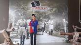 Di belakang saya ialah gambar suasana di Bukit Kepong pada sekitar tahun 1050.