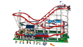 Roller Coaster - This fun set even comes with a juice stand and photo booth like any roller coasters in a theme park will have, and can even be upgraded with LEGO Power Functions for added movement.