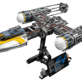 Y-Wing Starfighter™ - This BTL A4 Y-Wing ship is a set for Star Wars fans. The detailed build comes with a pilot minifigure, as well as an astromech droid that can be mounted onto the starfighter.