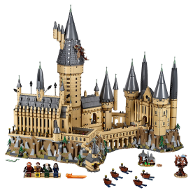 Hogwarts™ Castle - Explore the magic of the Hogwarts Castle, and build the majestic building from the Harry Potter franchise. The set comes complete with the characters as microfigures, and also has things like the basilisk from the second book, and even the Whomping Willow.
