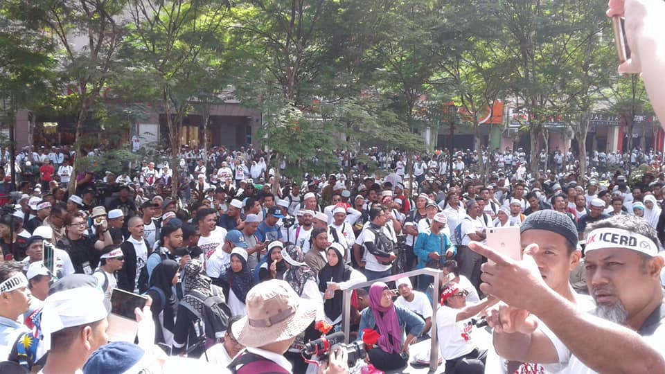 Stora demonstrationer mot baskisk gerilla
