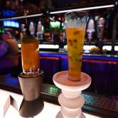 Two nonalcoholic drinks served at Oga's Cantina af Star Wars: Galaxy's Edge. Robert Hanashiro, USA TODAY