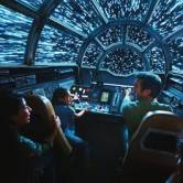 Inside Millennium Falcon: Smugglers Run guests will take the controls in one of three unique and critical roles aboard the fastest ship in the galaxy at Star Wars: Galaxy's Edge. Disney Parks