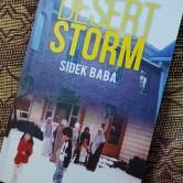 """Buku """"Desert Storm"""" yang Cikgu Sidek telah menghadiahkan kepada saya."""