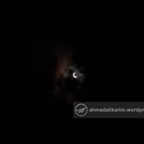 (SHAH ALAM) Kira-kira 10 minit sebelum kemuncak gerhana matahari separa di negeri Selangor, dapat dilihat sekitar negeri termasuk di Masjid Sultan Salahudin Abdul Aziz Shah, Shah Alam tengah hari tadi. — 26/12/2019 | (c) Ahmad Ali Karim, 2019