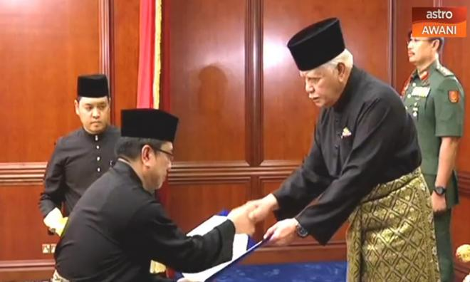 Sulaiman Ketua Menteri Melaka Baharu(Gambar)