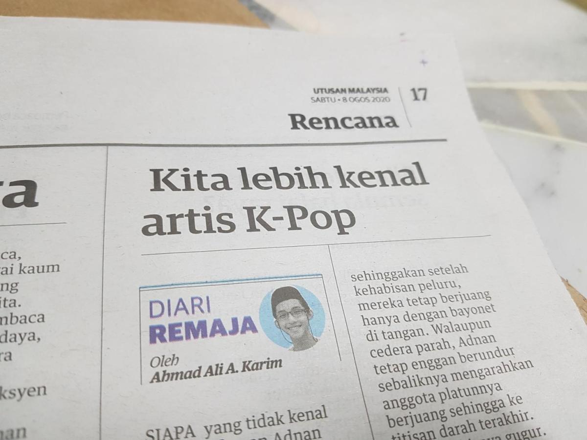 Diari Remaja @ Utusan Malaysia: Kita Lebih Kenal ArtisK-Pop