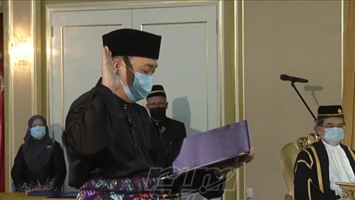 Rakaman Istiadat Angkat Sumpah Jawatan Ketua Menteri & Timbalan-timbalan Ketua MenteriSabah
