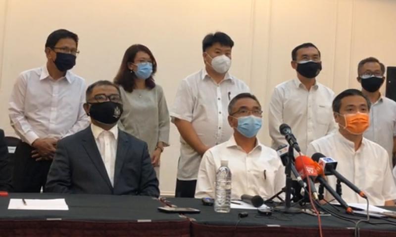 Pembangkang Mohon Mengadap YDPMelaka